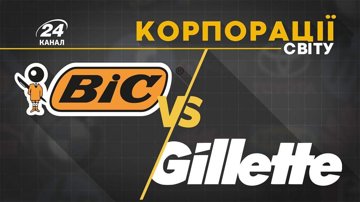 Bic проти Gillete: як провокативна реклама дозволила вибороти успіх