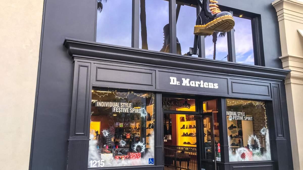 Виробник взуття Dr. Martens