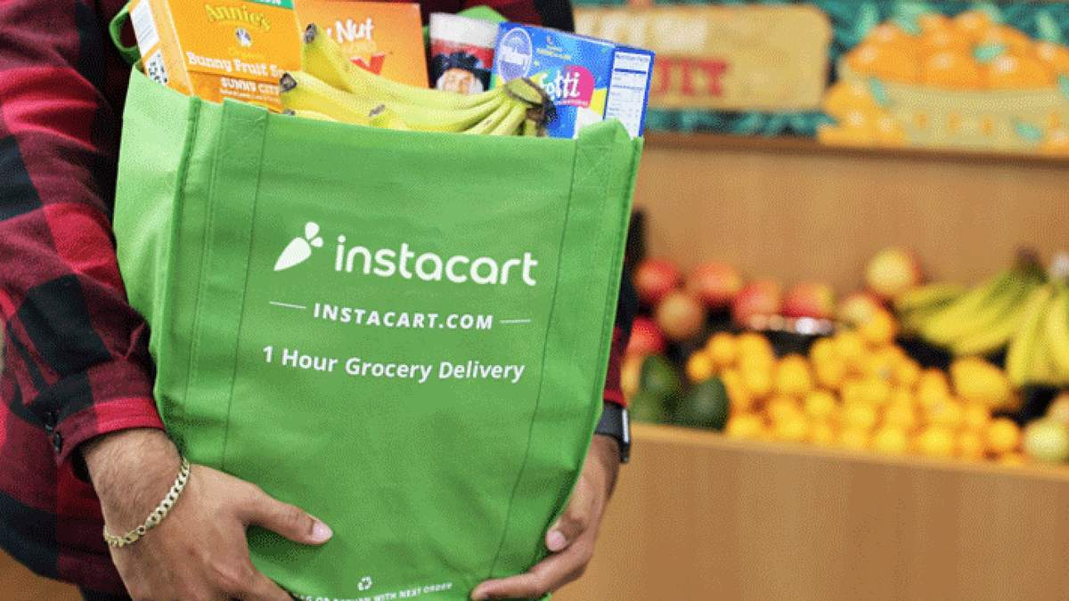 Продуктовий сервіс Instacart став другим найдорожчим стартапом у США