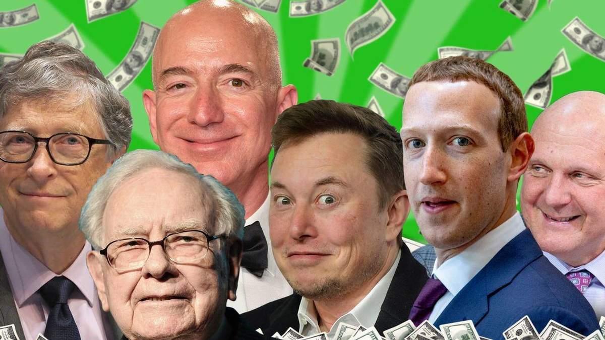 Маск, Цукерберг чи Безос – хто заробив найбільше під час пандемії