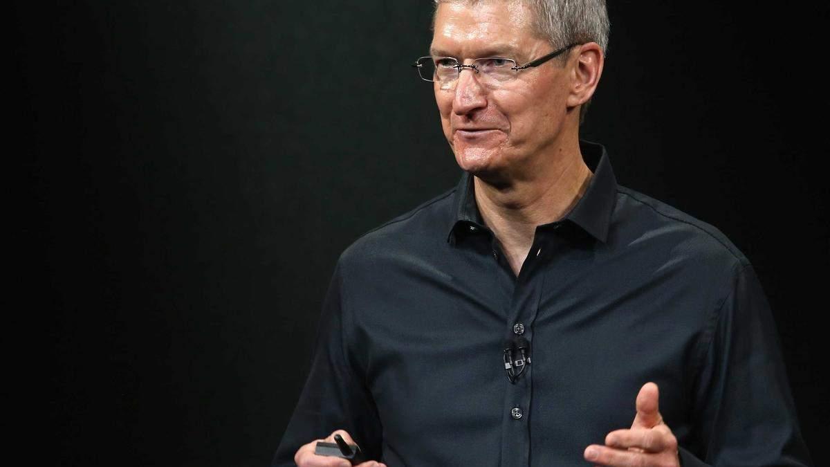 Тім Кук натякнув на виробництво електромобіля компанією Apple