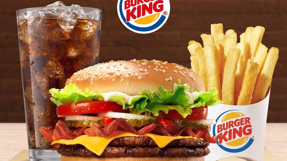 В Украине заработает сеть Burger King – настоящий конкурент McDonald's