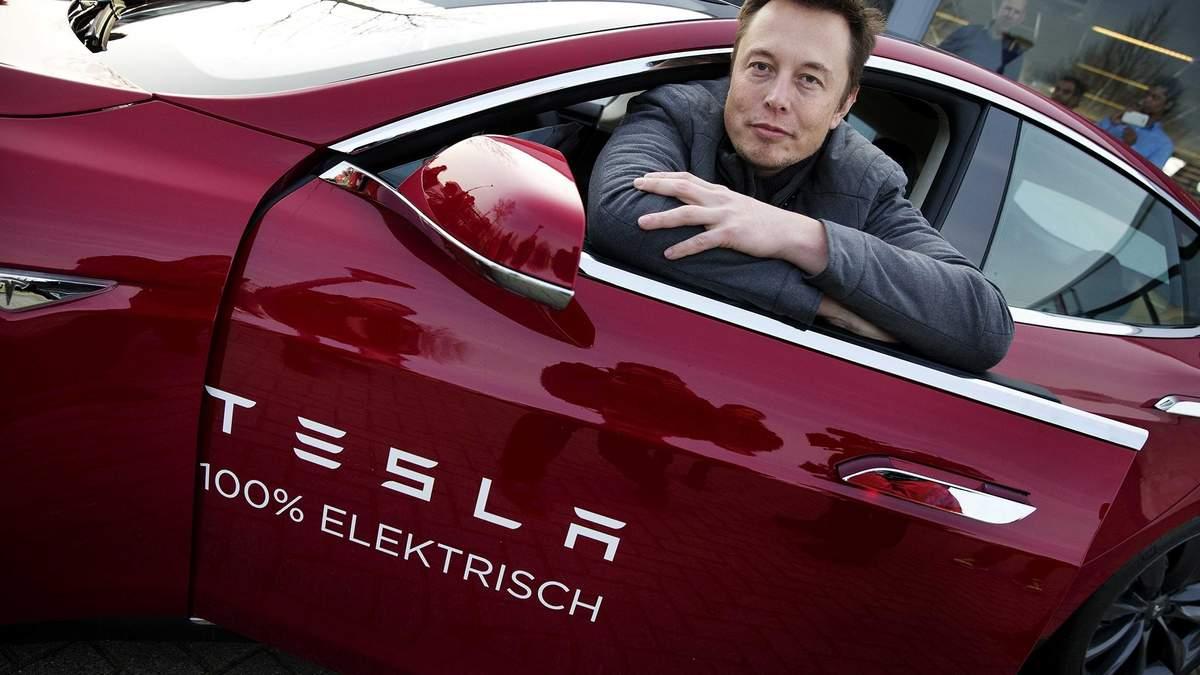 Ілон Маск сказав, що у Tesla є труднощі через нестачу чипів