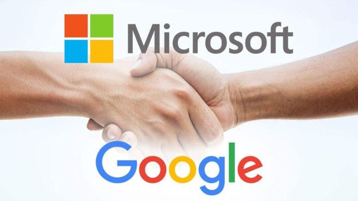 Microsoft и Google имеют разные стратегии в облаках, но одну цель – обогнать Amazon