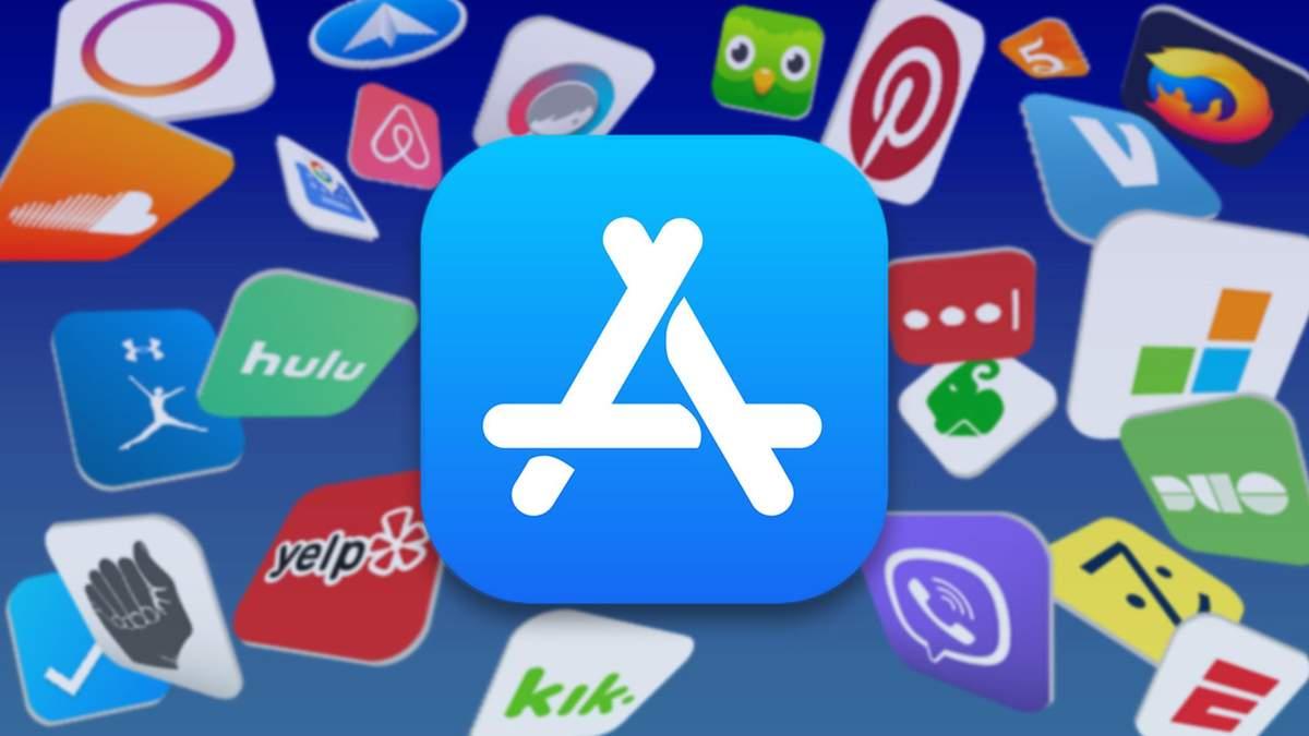 Логотип App Store