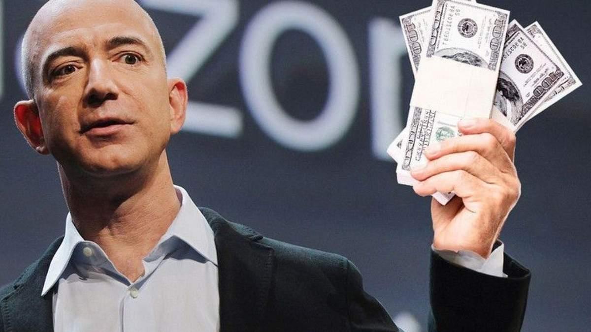 Джефф Безос очолює рейтинг багатіїв світу