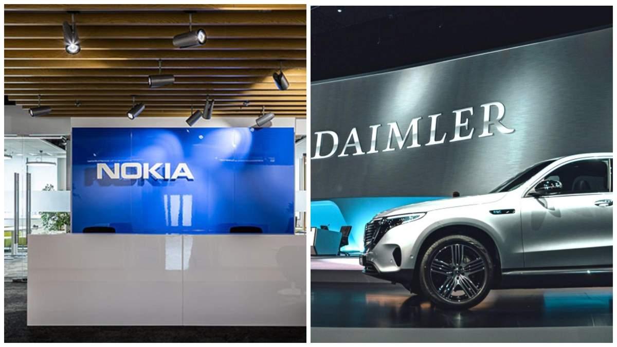 Mercedes-Benz та Nokiа нарешті домовились щодо 3G і 4G