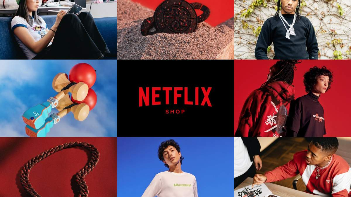 Компания Netflix открыла собственный магазин: что продают и какие цены