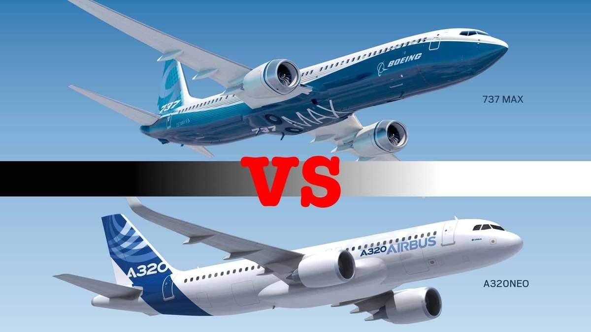 Boeing й Airbus: мир без миру