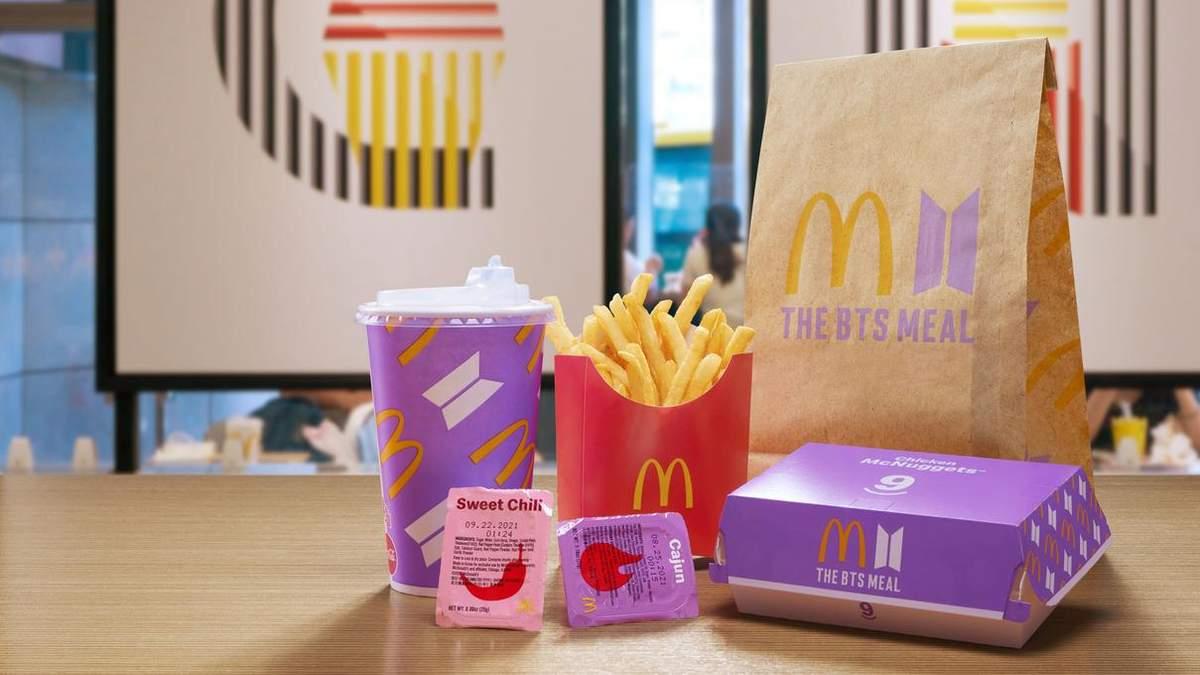 Сеть McDonald's выпустила 2 новые коллекции BTS: как приобрести