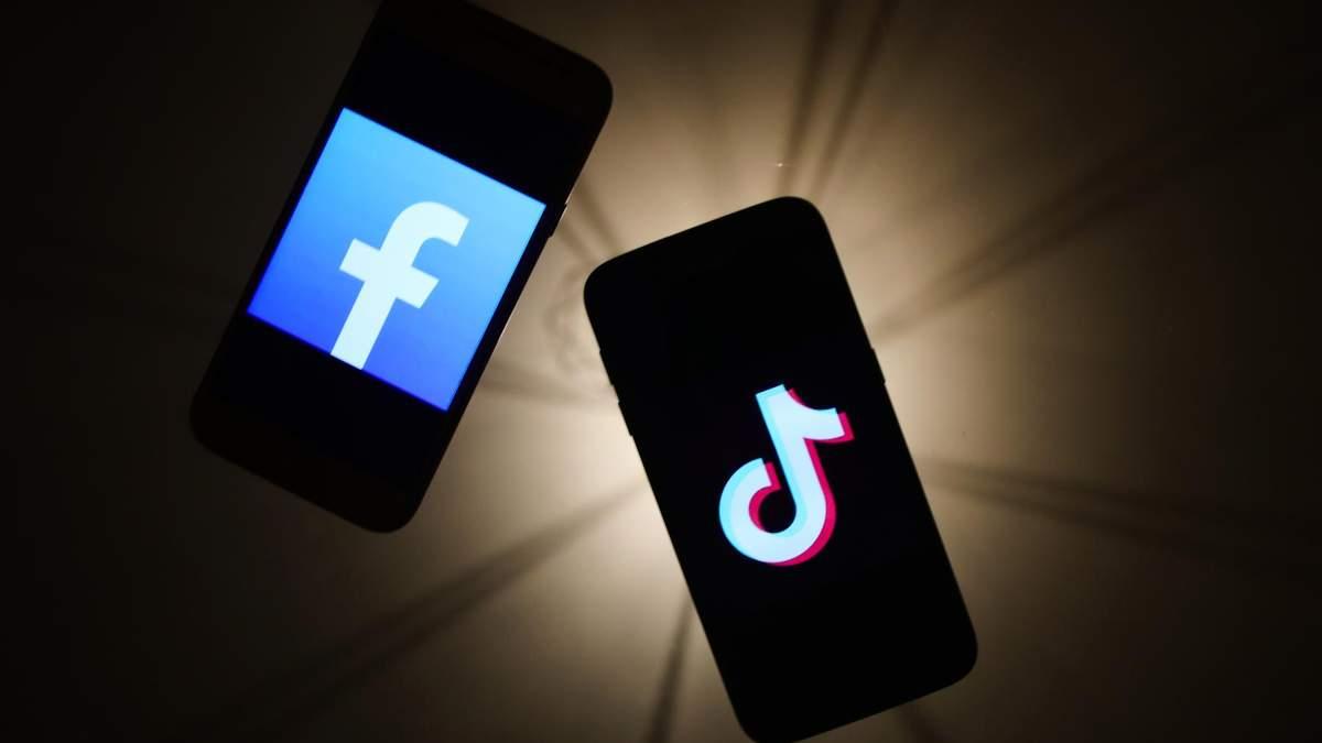 TikTok активно доганяє Facebook