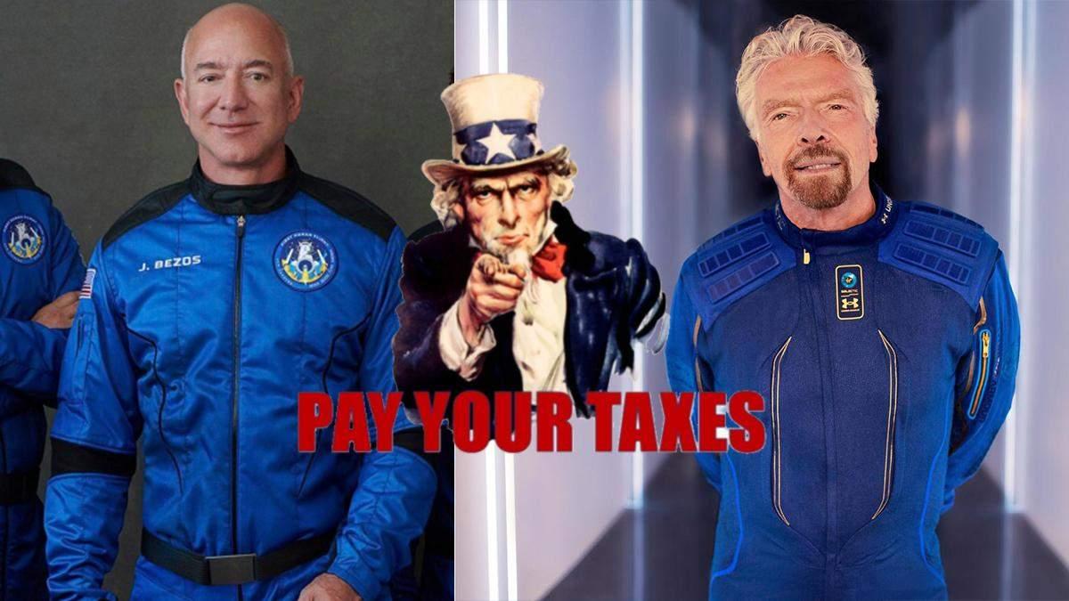В США планируют ввести налог на космический туризм