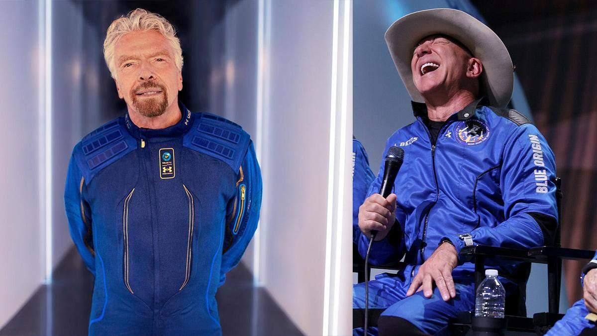 Безоса та Бренсона не визнають астронавтами
