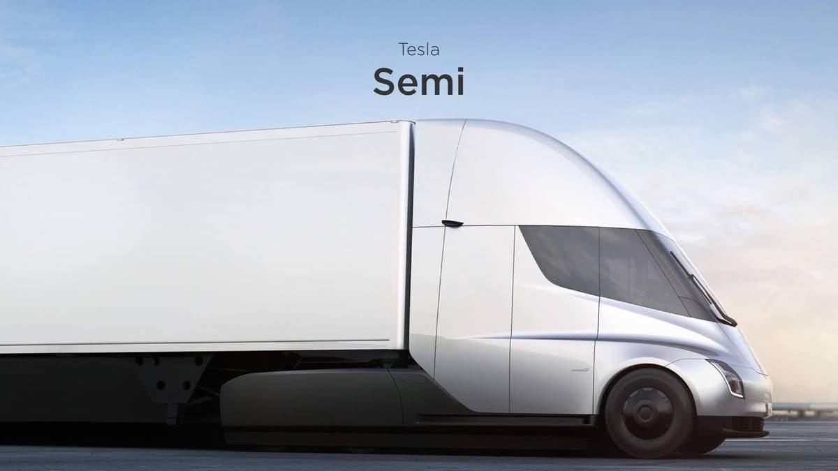 Запуск Tesla Semi снова отложили