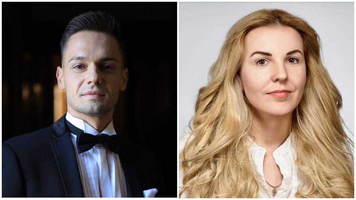 Олег Онищенко та Ірина Мягка