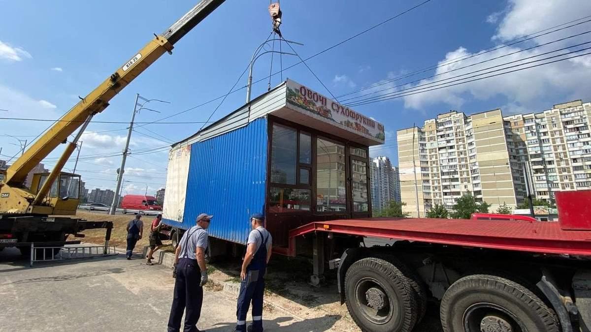 В столице демонтировали почти 1 700 МАФов