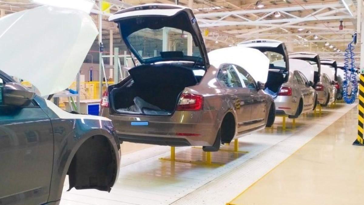 В Украине начали производить больше авто