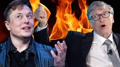 Запекла ворожнеча: головні історії, у яких між Маском та Гейтсом виникли суперечки