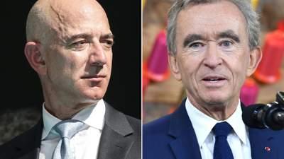 Джефф Безос чи Бернар Арно: хто таки найбагатша людина світу
