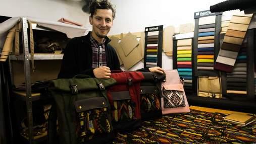 Безпритульний став успішним бізнесменом: вражаюча історія Сашка Горонді та його рюкзаків