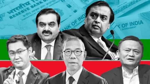 Найбагатші азійці світу: хто скинув китайців з трону