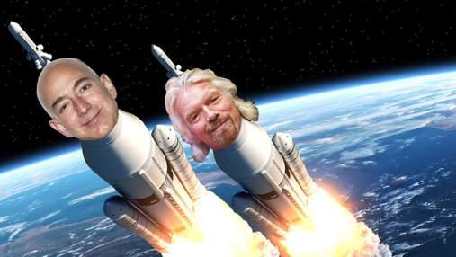Битва мільярдерів за космос: хто стане першим астронавтом в рейтингу Forbes