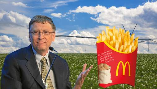 """Білл Гейтс скуповує землі через """"підставних осіб"""": гігантські поля вже видно з космосу"""