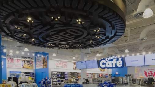 Oreo открыл первое кафе за 109-летнюю историю бренда: фото, видео