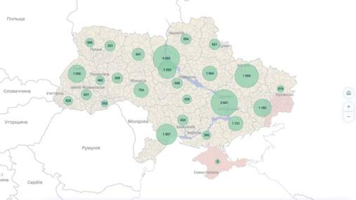 Кто, где и сколько платит: в Украине запустили онлайн-карту налогов