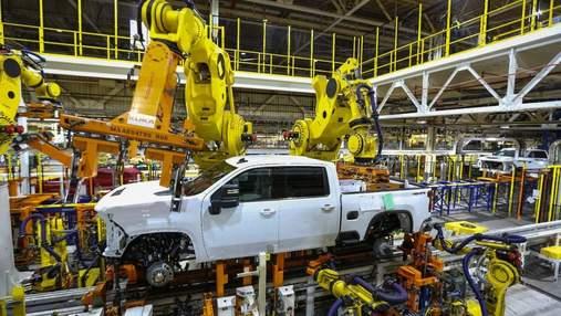 General Motors закроет несколько своих заводов: все из-за дефицита микрочипов